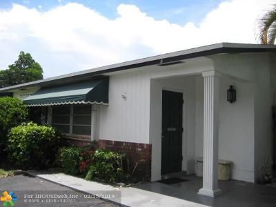 Broward County, Collier County, Lee County, Palm Beach County Rental For Rent: 2173 NE 51st Ct #B