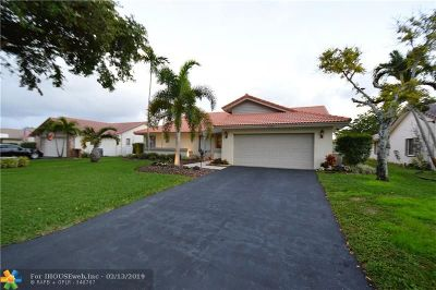 Coral Springs Single Family Home For Sale: 10682 NW 2nd Pl