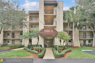 Davie Condo/Townhouse For Sale: 9450 Poinciana Pl #208