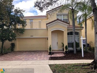 Miramar Single Family Home For Sale: 5262 SW 155th Ave