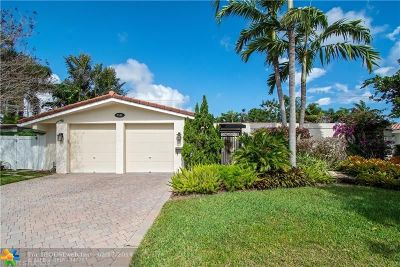 Fort Lauderdale Single Family Home For Sale: 2141 NE 61st Ct