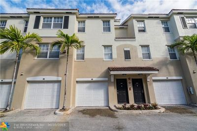 Coral Springs FL Condo/Townhouse For Sale: $184,900