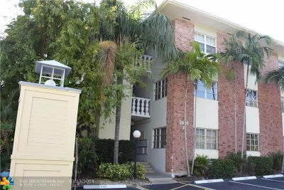 Fort Lauderdale Condo/Townhouse For Sale: 2426 SE 17th St #308A