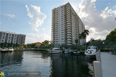 Fort Lauderdale Condo/Townhouse For Sale: 3200 Port Royale Dr #206