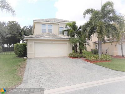 Boynton Beach Single Family Home For Sale: 8915 Briarwood Meadow Ln