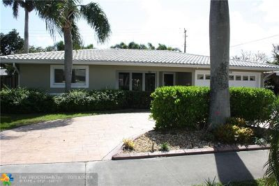 Pompano Beach Single Family Home For Sale: 600 SE 5th St