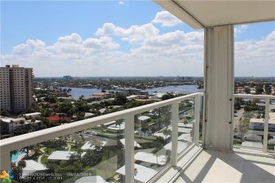 Pompano Beach Condo/Townhouse For Sale: 1000 S Ocean Blvd #16-H