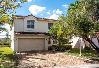 Coral Springs Single Family Home For Sale: 11080 NW 34th Ct
