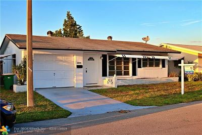 Tamarac Single Family Home For Sale: 4929 NW 55th St