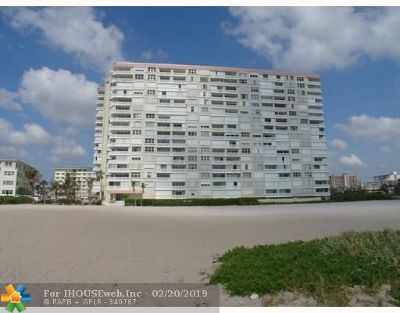 Pompano Beach Condo/Townhouse Backup Contract-Call LA: 1012 N Ocean Blvd #1408