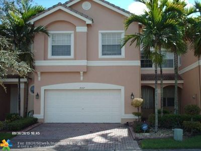 Miramar Condo/Townhouse For Sale: 4327 SW 125th Ln #4327