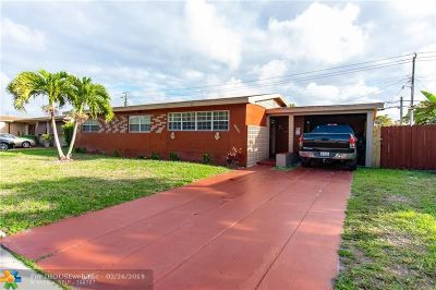 Miami Single Family Home For Sale: 1420 NW 179th Ter