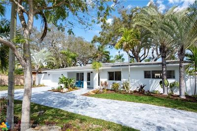 Wilton Manors Single Family Home For Sale: 1529 NE 28 Dr