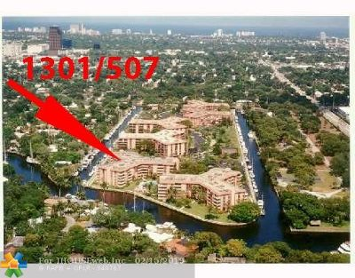 Fort Lauderdale Condo/Townhouse For Sale: 1301 River Reach Dr #507