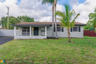 Fort Lauderdale Single Family Home For Sale: 3665 SW 17th St