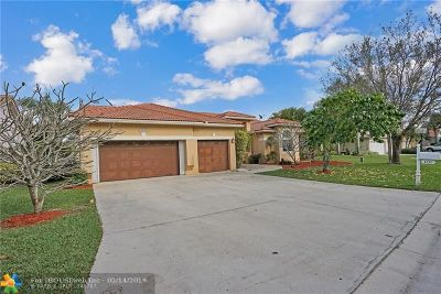 Coral Springs Single Family Home For Sale: 4231 NW 90th Ter