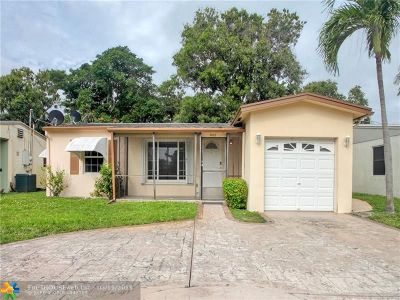 Oakland Park Single Family Home For Sale: 5257 N Andrews Ave
