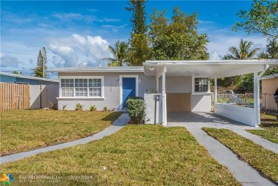 Fort Lauderdale Single Family Home For Sale: 1240 NW 7th Ter
