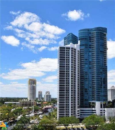 Fort Lauderdale Condo/Townhouse For Sale: 333 Las Olas Way #3903