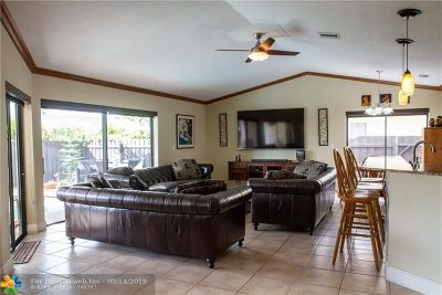 Coral Springs Single Family Home For Sale: 8522 NW 21st St