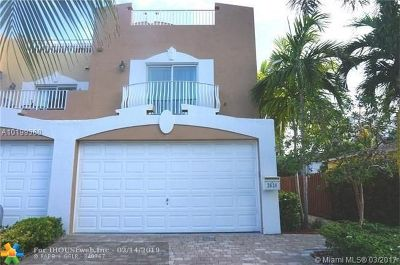 Fort Lauderdale Condo/Townhouse For Sale: 2626 NE 11th Ct #2626