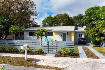 Fort Lauderdale Single Family Home For Sale: 1709 NW 7th Ter