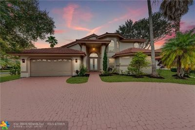 Coral Springs Single Family Home For Sale: 1850 Classic Dr