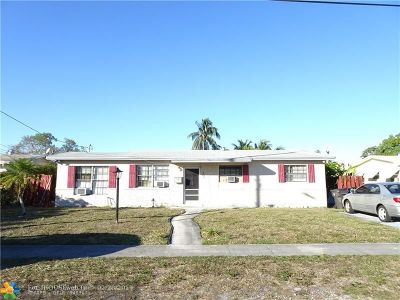 Lauderdale Lakes Single Family Home Backup Contract-Call LA: 4321 NW 34th Ct