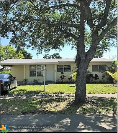 Fort Lauderdale Single Family Home For Sale: 900 SW 22nd Ter