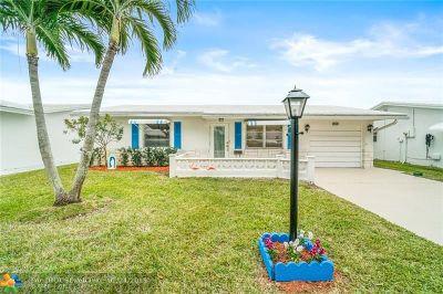 Boynton Beach Single Family Home For Sale: 2080 SW 13th Way
