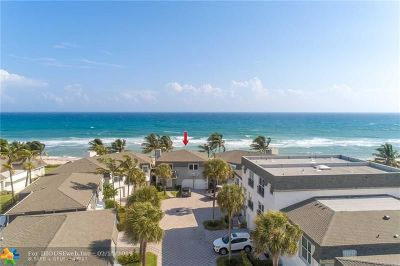 Hillsboro Beach Condo/Townhouse For Sale: 1194 Hillsboro Mile #19
