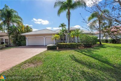 Coral Springs Single Family Home For Sale: 5136 Kensington Cir