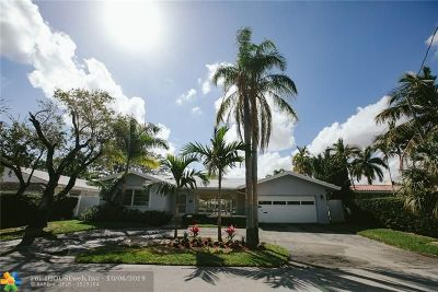 Fort Lauderdale Single Family Home For Sale: 2218 NE 16th Ct