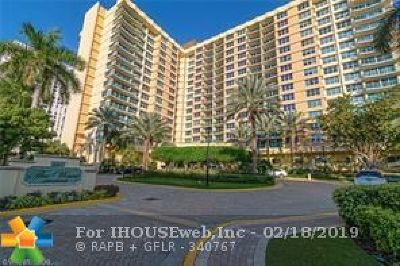 Broward County, Collier County, Lee County, Palm Beach County Rental For Rent: 2501 S Ocean Drive #732
