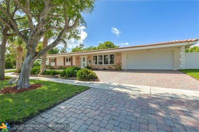 Fort Lauderdale FL Single Family Home For Sale: $899,000