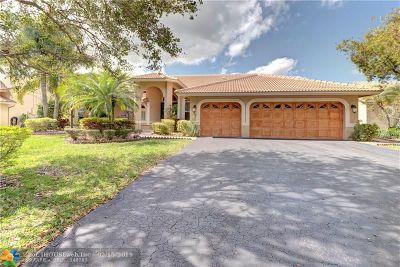 Coral Springs Single Family Home For Sale: 5648 NW 100th Way