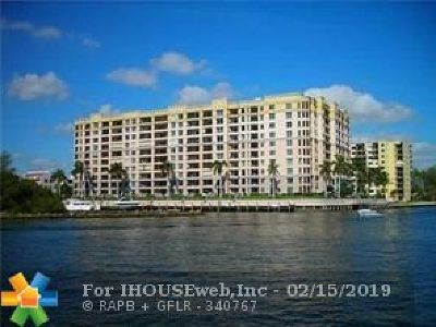 Pompano Beach Condo/Townhouse For Sale: 2880 NE 14th Street Causeway #512