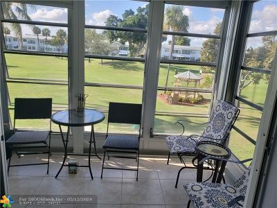 Pompano Beach FL Condo/Townhouse For Sale: $79,000