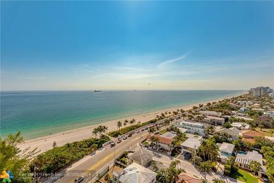 Fort Lauderdale Condo/Townhouse For Sale: 1901 N Ocean Blvd #TH-C