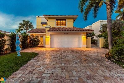 Delray Beach Single Family Home For Sale: 483 Pelican Way