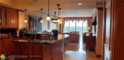 Pompano Beach FL Condo/Townhouse For Sale: $750,000