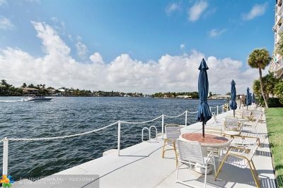 Fort Lauderdale Condo/Townhouse For Sale: 425 Bayshore Dr #4
