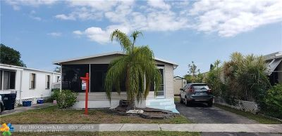 Fort Lauderdale FL Single Family Home For Sale: $129,900