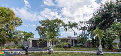 Pompano Beach Single Family Home For Sale: 2432 NE 14th Ave