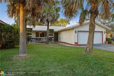 Coral Springs Single Family Home For Sale: 8977 NW 21st Ct