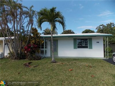 North Lauderdale Single Family Home For Sale: 1941 SW 68th Ave