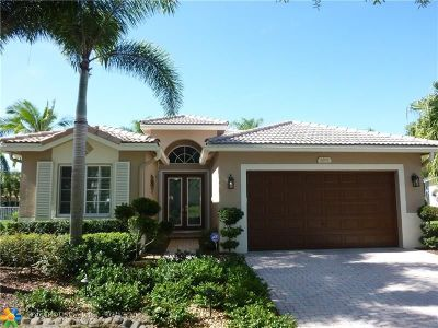 Coconut Creek Single Family Home Backup Contract-Call LA: 6501 Flamingo Ln