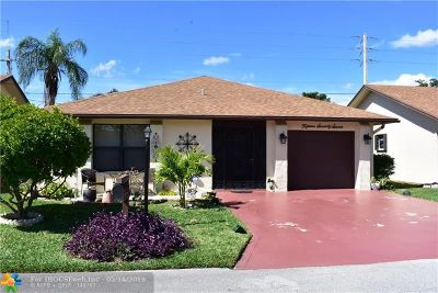 Deerfield Beach Single Family Home For Sale: 1577 SW 23rd Way