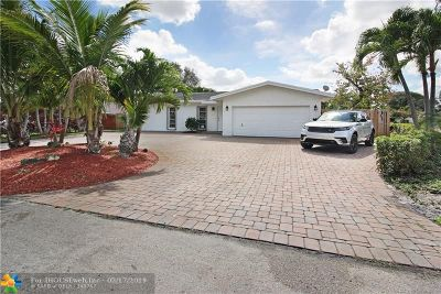 Fort Lauderdale Single Family Home For Sale: 3170 NW 69th Ct