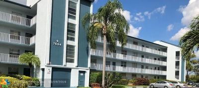 Margate Condo/Townhouse For Sale: 7664 NW 18th St #402